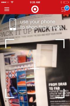 Target In a Snap App